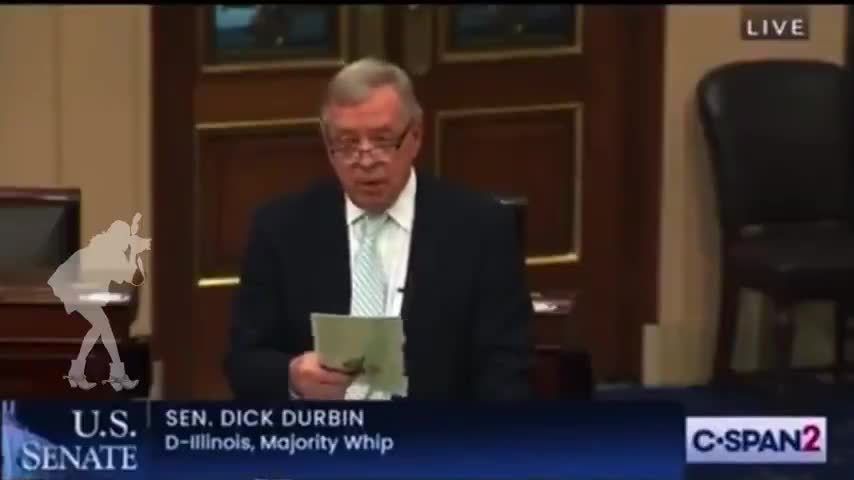 """Senator Dick Durbin Admits """"Millions have Died from the Vaccines"""""""