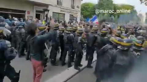 """Mass protests in several cities in France against mandatory """"vaccination"""""""
