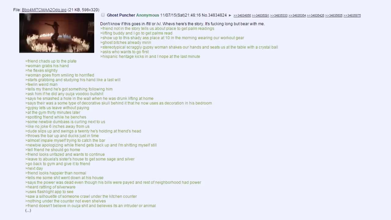 4chan Story Time - The Ghost Puncher