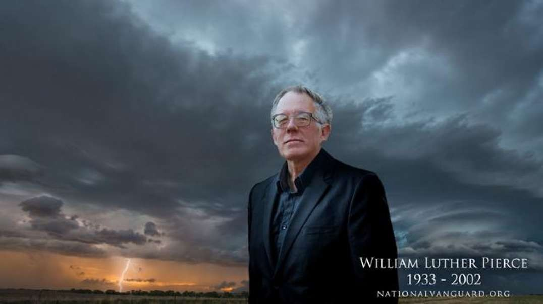 """Dr. William Luther Pierce on What Constitutes Jewish Power Today (Not """"the Rothschilds"""")"""