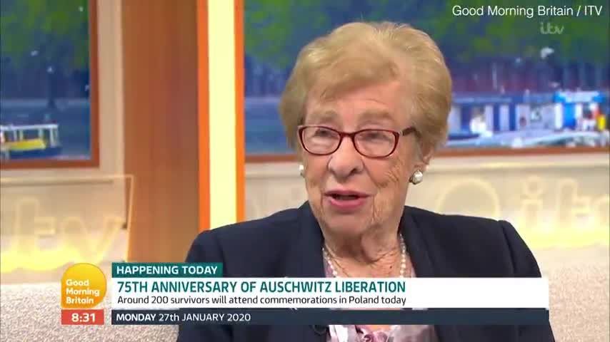 Anne Frank's step-sister admits Auschwitz liberation photos are FAKE