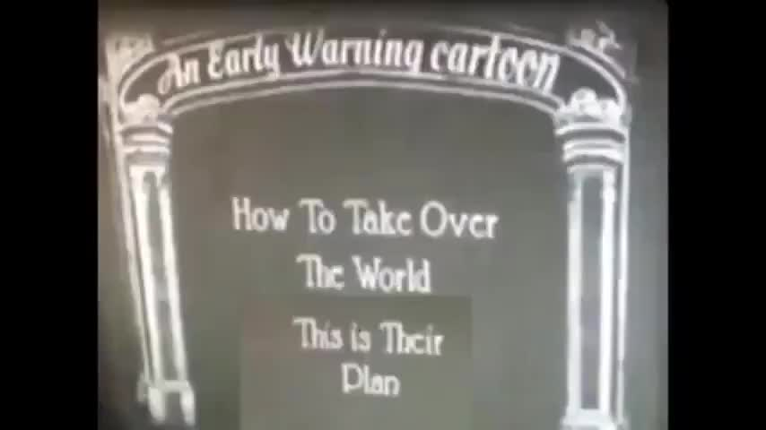 how to take over the world 1930s cartoon