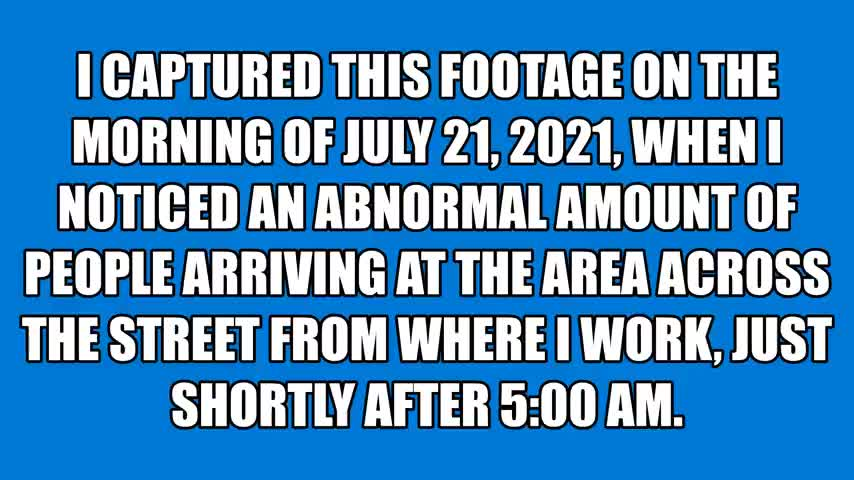 Staged Protest In Canada: Creating Fake Events