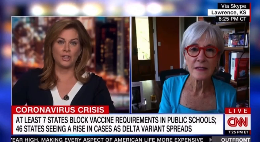 """'we have a wildly effective vaccine"""" another demon Kathleen Sebelius"""