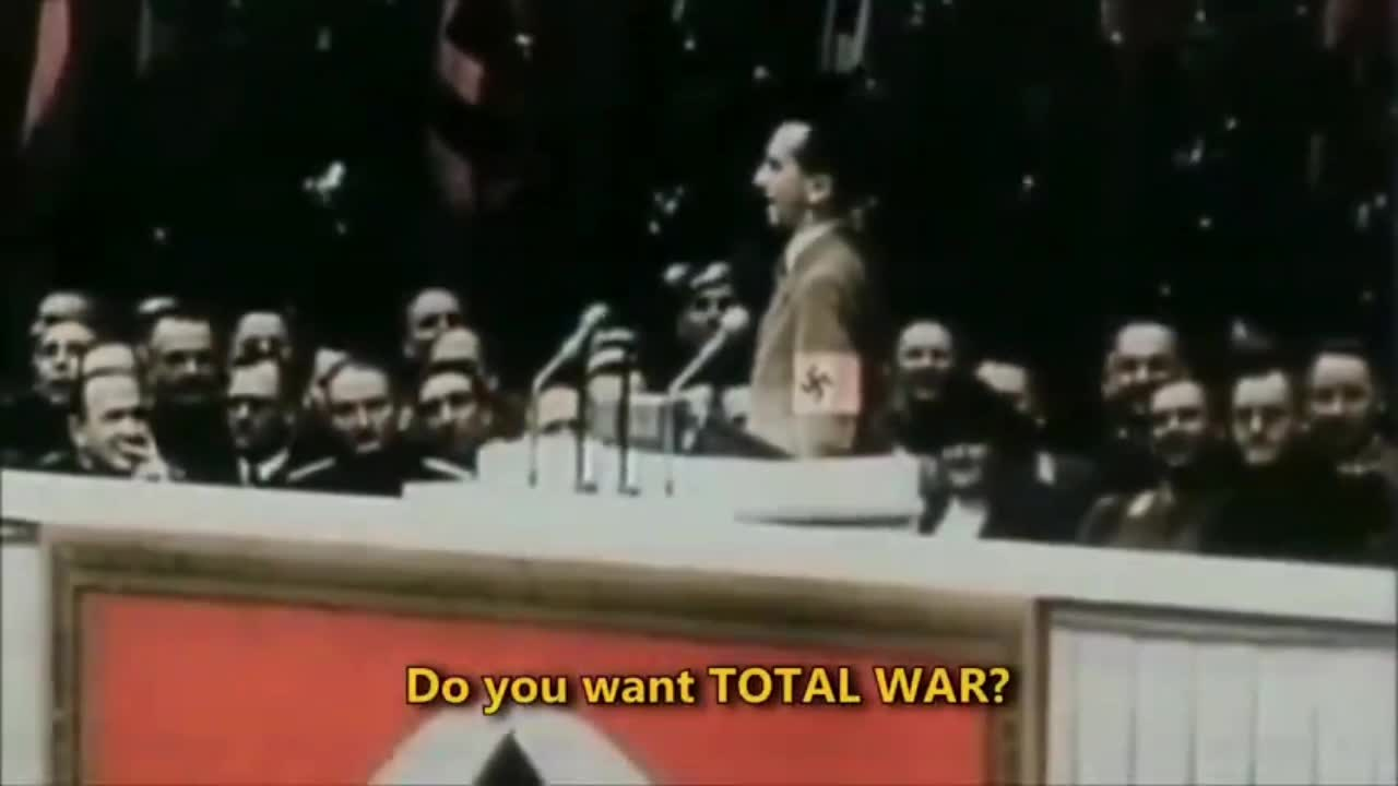 DO YOU WANT TOTAL WAR ?