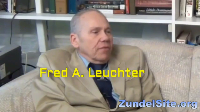 Fred Leuchter on how his life was ruined for telling the truth and exposing the gas chamber myth
