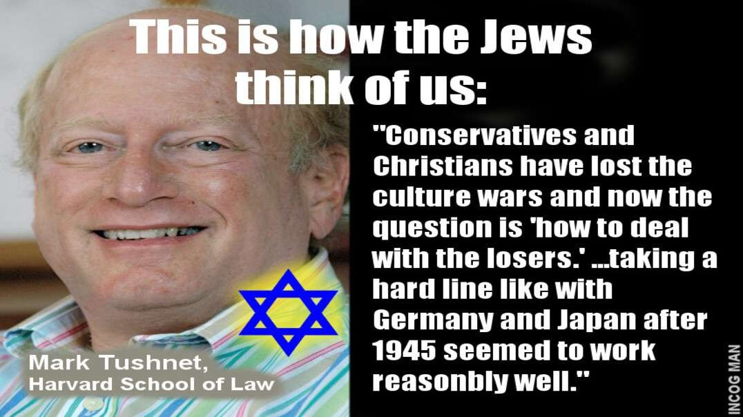 Jews: Inciting Hate and Violence Towards Whites