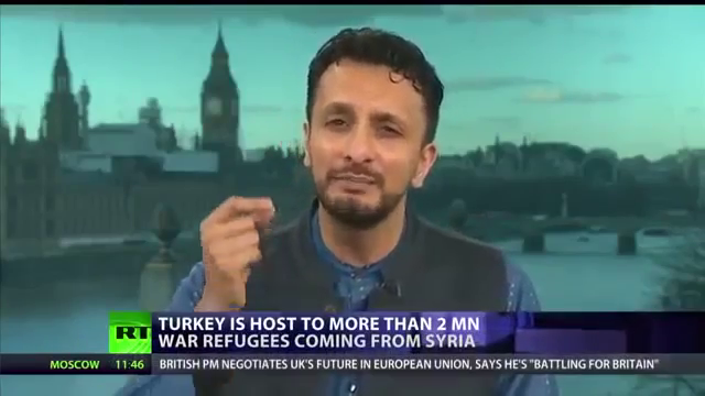...talking about the Genocide of White Europeans on national television