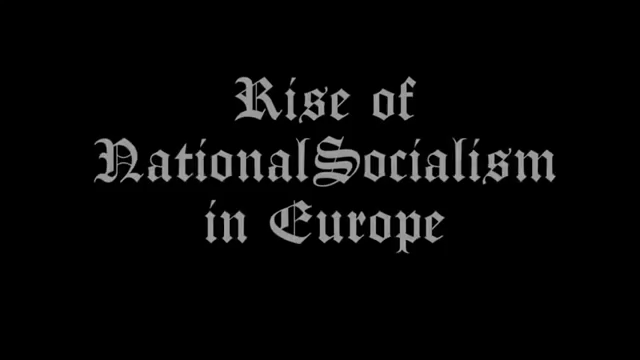Rise of National Socialism in Europe