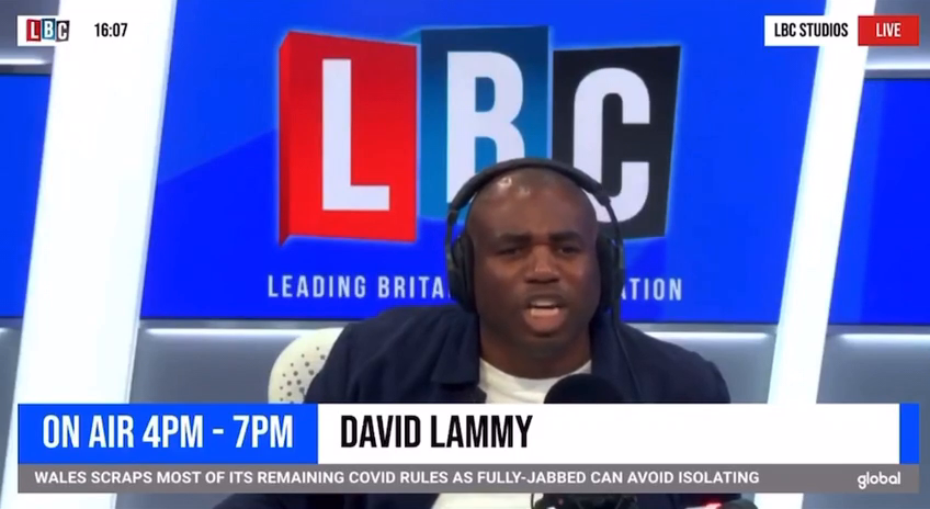 You will never be English but you will always be Black - Lammy goes off again