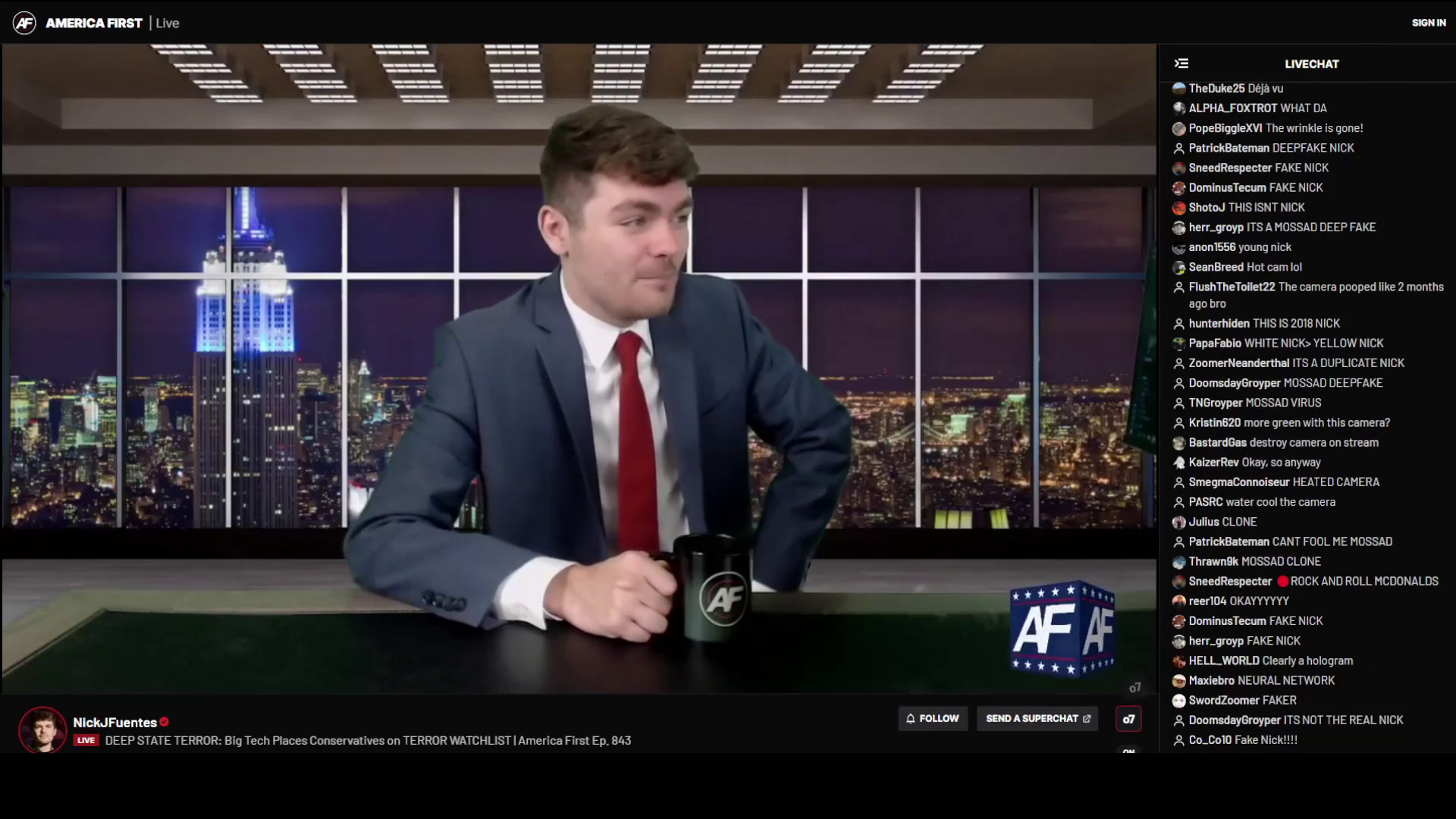 Nick Fuentes Speaks The Truth And Calls Out The Perverted Jews