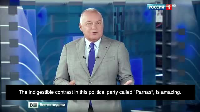 """RUSSIAN """"OPPOSITION"""" (1): NATIONALISTS and PARTY """"PARNAS"""" - GLOBAL CIRCUS. By SYRIAN MATRIX"""