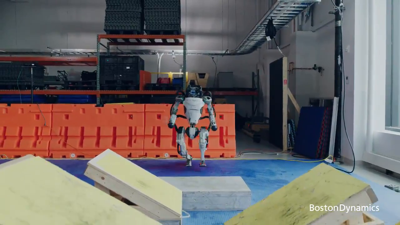 Meanwhile, the robots at Boston Dynamics got another software update.
