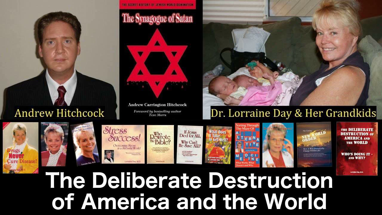 8 ACH (1565) Dr. Lorraine Day – The Deliberate Destruction Of America And The World #8 - July-23