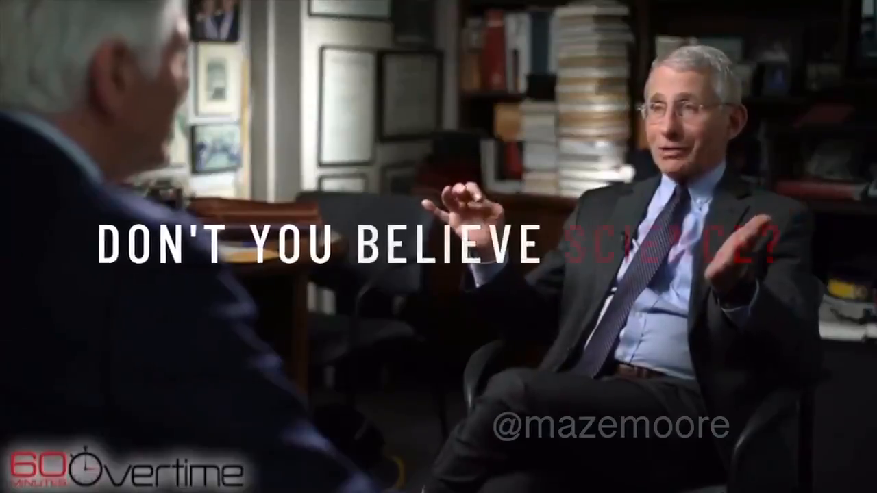 Compilation of Fauci making it up as he goes along