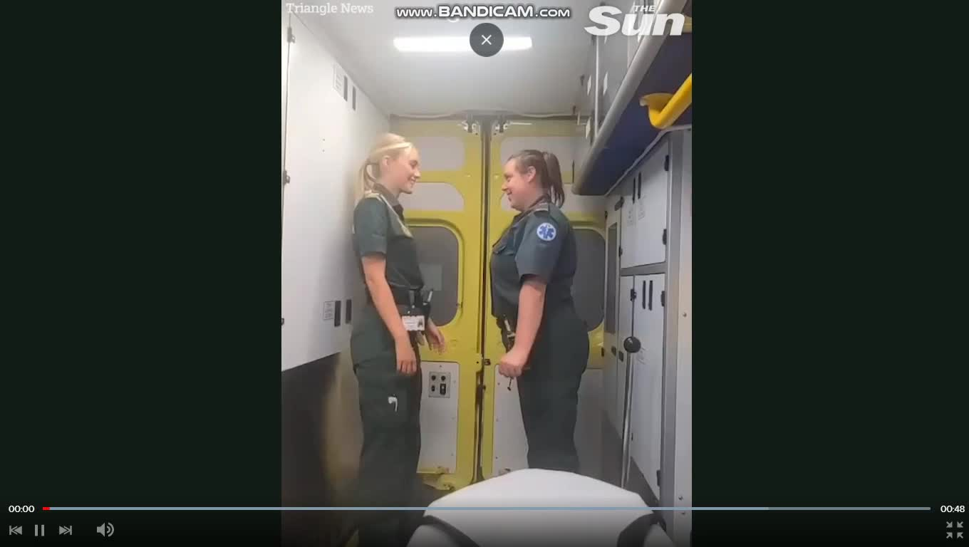 Dancing Female Paramedics are back but with a totally different reaction from the MSM..