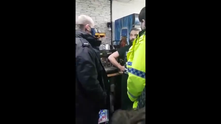 UK cops attack and punch pub landlord in Manchester for not masking