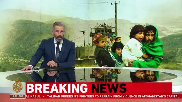 Taliban takeover - Fighters surround Kabul 'from all sides'