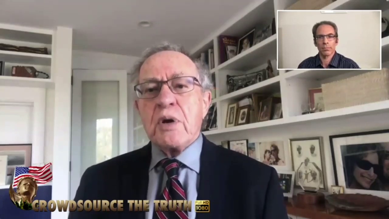 SHUT THE FUCK UP JEW #24 Alan Dershowitz on Forced Vaccinations