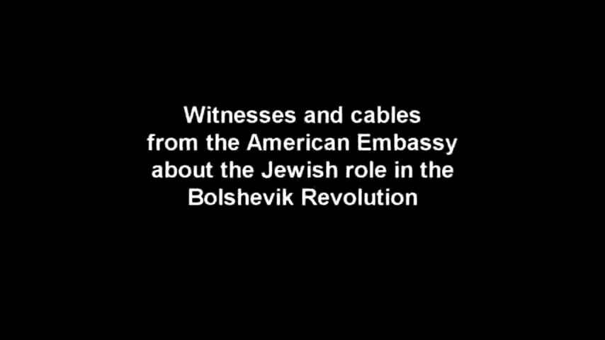 Historical Documents Prove the Connection Between Jews and Bolshevism, The Jews Must Be Purged Forever
