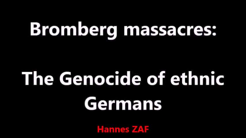 The Genocide of Ethnic Germans