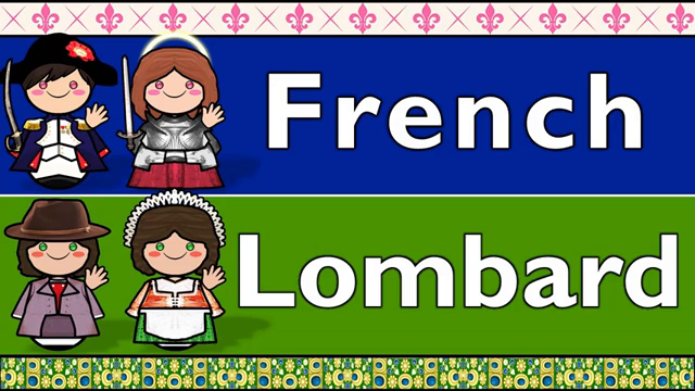 FRENCH and WESTERN LOMBARD (The Lords Prayer)