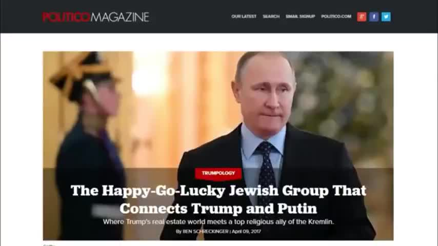 Putin and the Chabad-Lubavitch End-Of-Days Cult of Jews