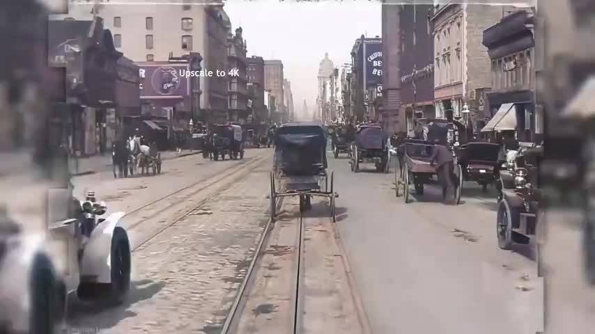 The streets of San Francisco 1906