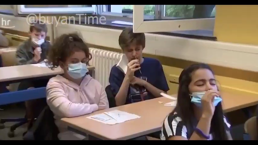 German Indoctrination Camps are getting children to poison themselves