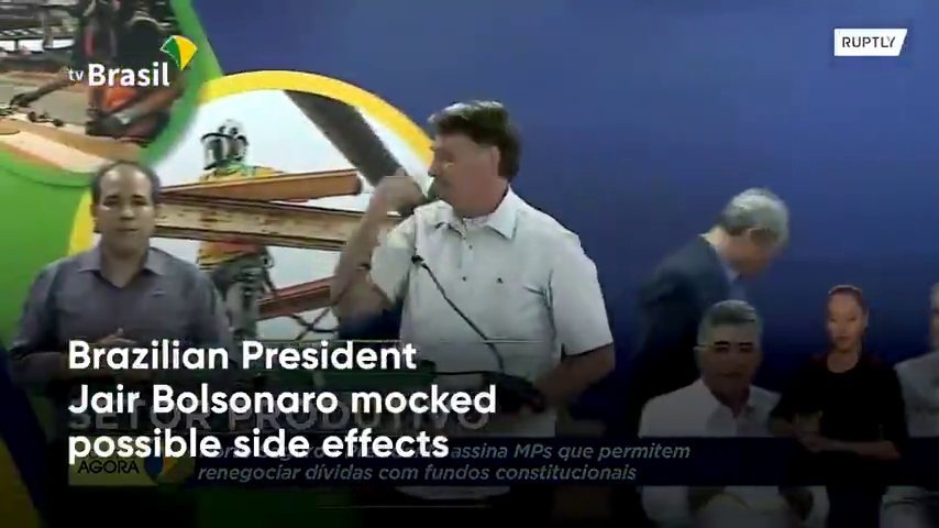 Brazilian President says he won't take the vaccine - (The Next Dead / soon to be Assassinated President)