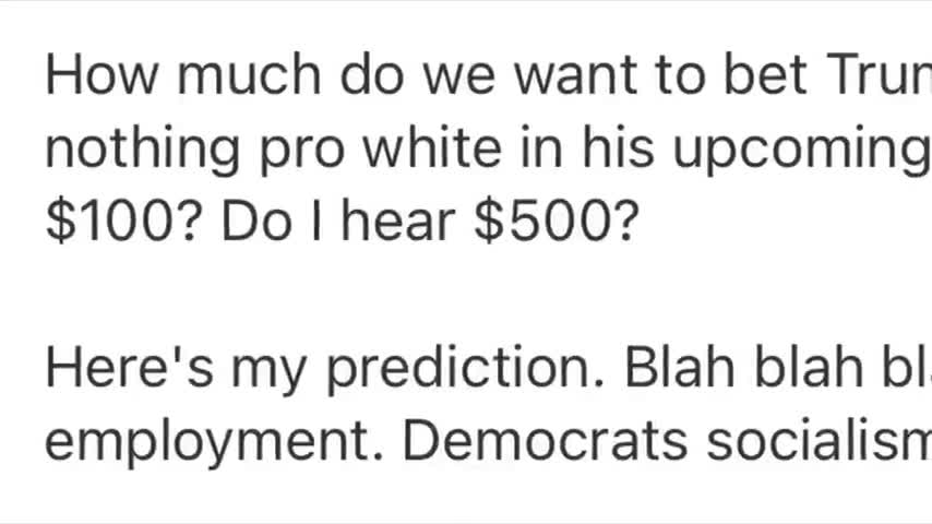 DONALD TRUMP - TROJAN HORSE AND TRAITOR TO THE WHITE RACE