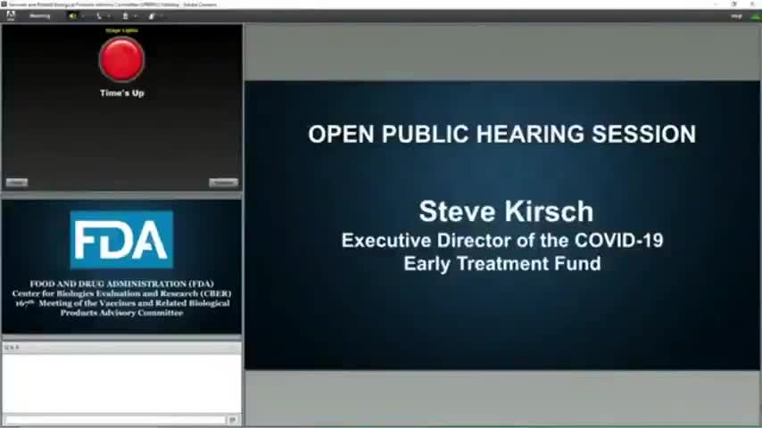 FDA meeting - Now we know why two top FDA officials resigned