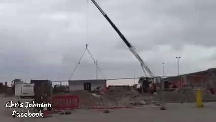 Look how quick the government are building the new £2 million pound immigrant processing centre in Dover