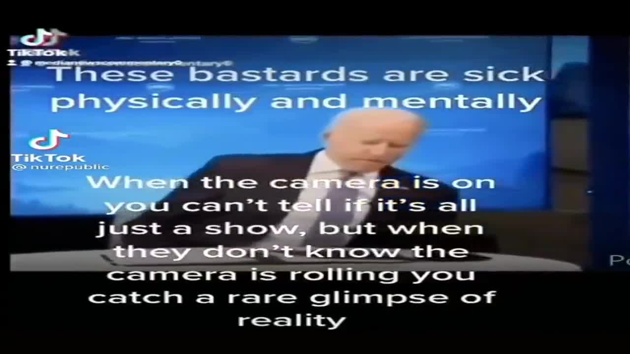 Biden on a hot mic and on camera admits climate change is a hoax