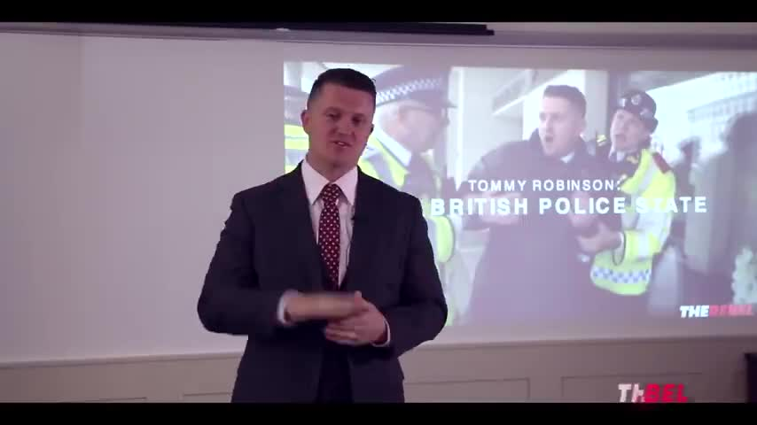 Tommy Robinson's BANNED Speech on The British Police State (2017)