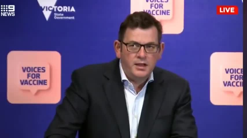 """""""If youre making the choice to be unvaccinated- you're making the wrong choice!"""" ₪Daniel Andrews₪"""
