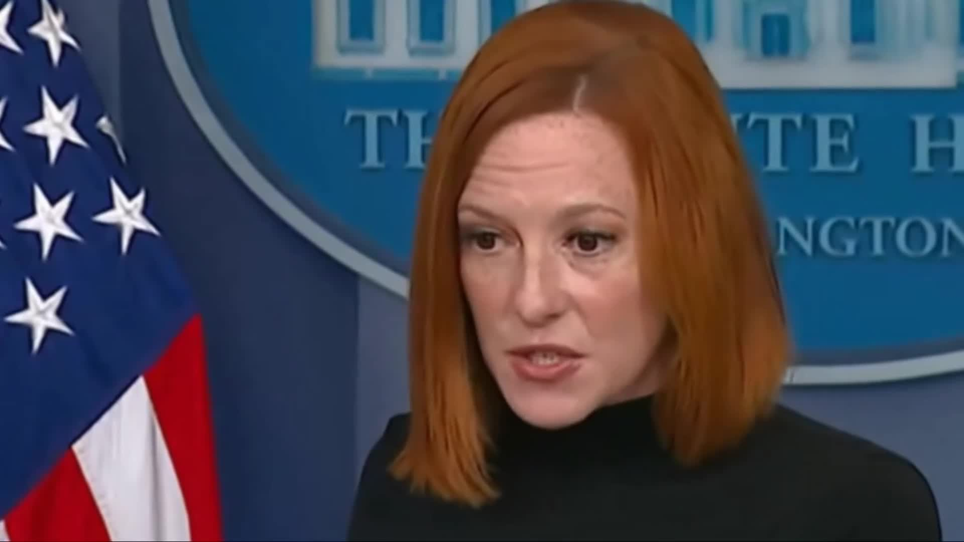 Woah! Jen Psaki unexpectedly gets INTERRUPTED by this....