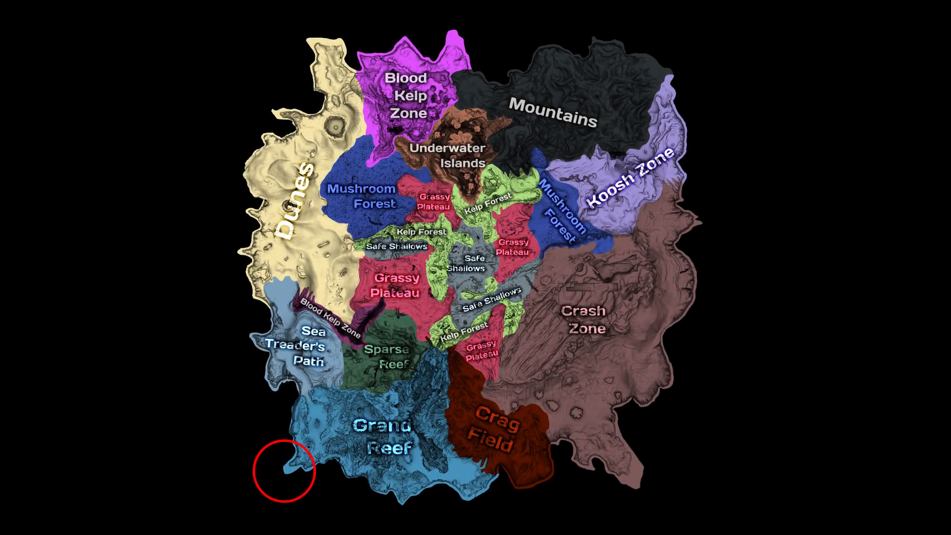 Subnautica: Ghost Leviathan Observatory (The Void/Crater Edge)
