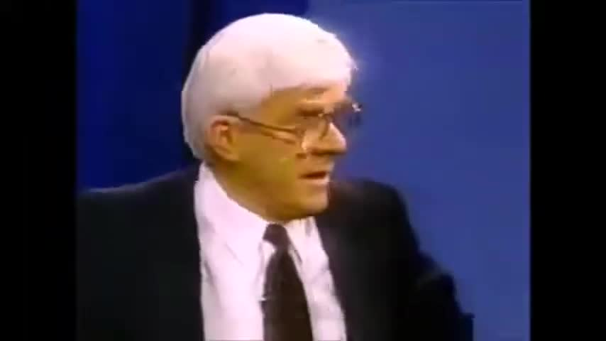 The Phil Donahue Show interview with David Cole holocaust debate FULL
