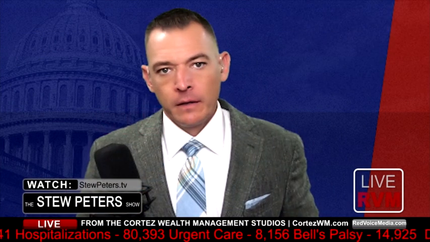 """Stew Peters:  Marine Officer Exposes Military Mandate: """"Illegal, Immoral, Unconstitutional"""""""