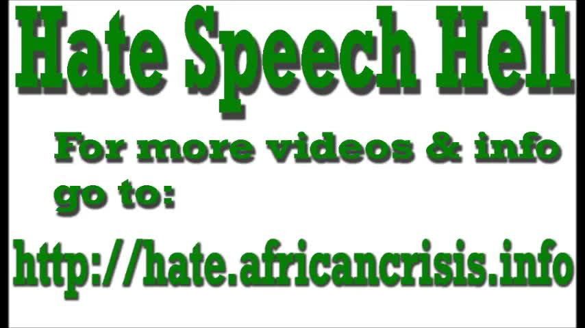 Hate Speech Law: No Protection for Whites: 3 Years Jail for 1st Offence