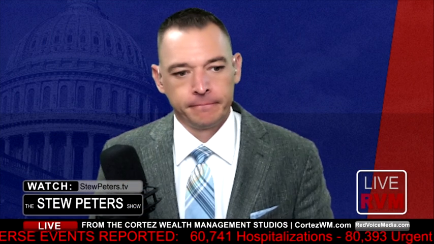 Stew Peters:  Sidney Powell LIVE: Pelosi Terrified, Coomer Deposed, BREAKING: Powell Suit Filed TODAY.