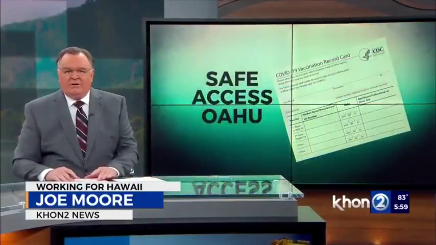 """Honolulu Mayor  """" We will go to mandatory Vaccinations. People need to embrace that"""""""