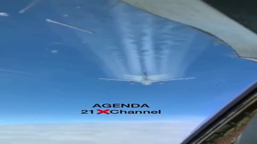 9 seconds of proof...  Still don't think they are spraying?