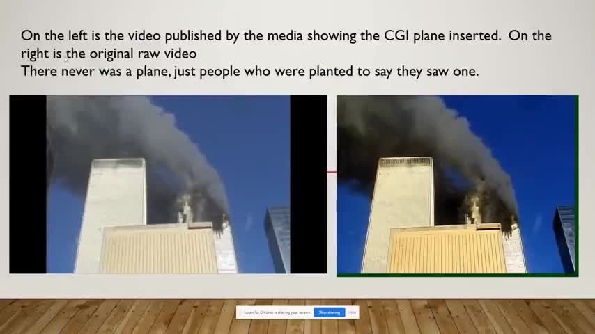 Computer Graphics (proof NO planes were used on 911)
