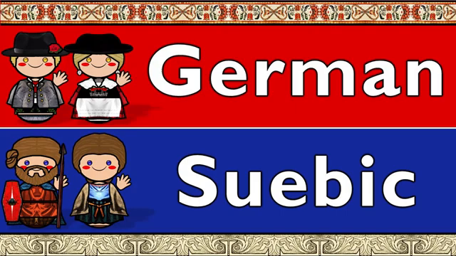 GERMAN and SUEBIC (The Lord;s Prayer)