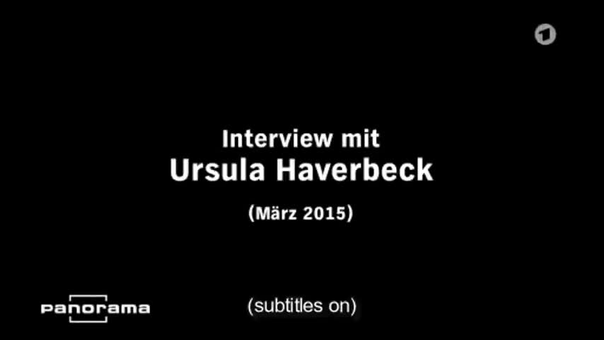 URSULA HAVERBECK: NO EVIDENCE OF GAS CHAMBERS | THE PANORAMA INTERVIEW | ENGLISH SUBTITLES