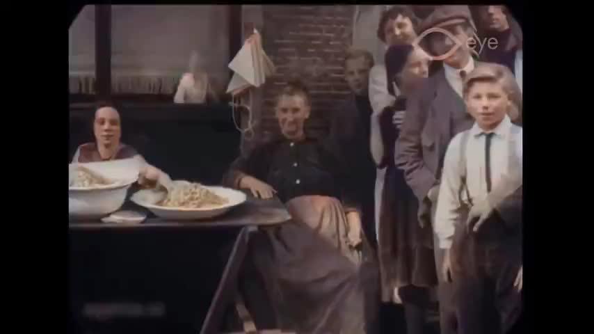 The streets of Amsterdam 99 years ago