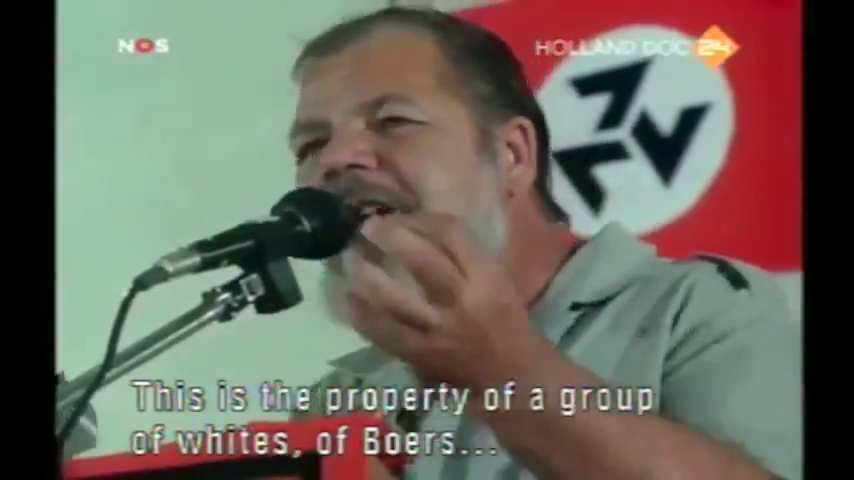 My Beloved Country (Documentary on the AWB and Eugene TerreBlanche)