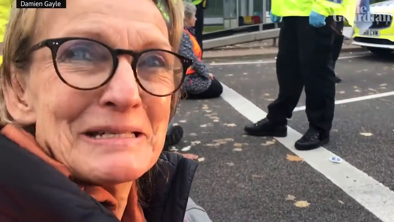 """Have you heard about """"Insulate Britain""""? Well , its a bunch of single middle age woman and some junkies that are blocking roads in UK cause """"muh climate crisis"""""""